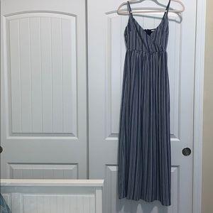 Full length dress.